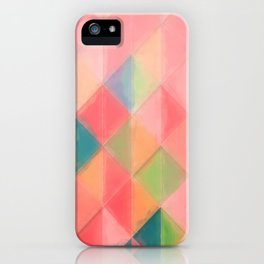 Harlequin Pattern iPhone Case