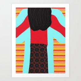 The Magic Sweatshirt Children's Book Cover Art Art Print