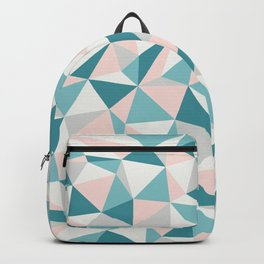 Fractured Triangle Pattern Backpack