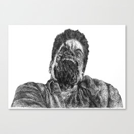 wide mouth Canvas Print