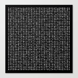 Word Search: Pocket Monsters Canvas Print