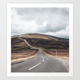 Cairngorms national park view Art Print