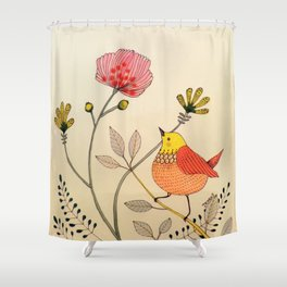 la belle vie Shower Curtain