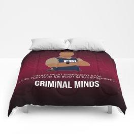 Criminal Minds - Morgan Comforters