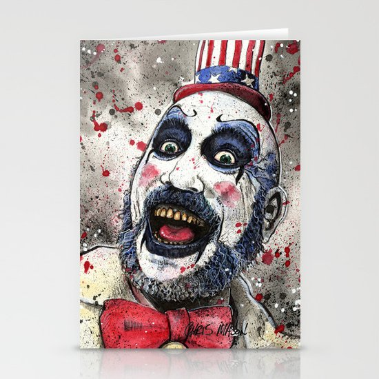 Captain Spaulding -The Devil's Rejects Stationery Cards