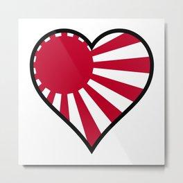 Love Japan Metal Print