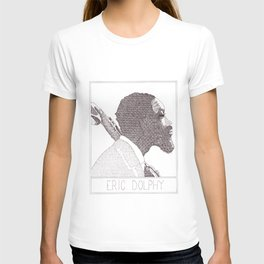 Eric Dolphy Jazz Portait T-shirt
