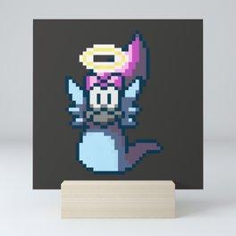 Pixel Angel Ogura Mini Art Print