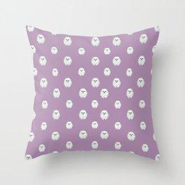 Pom Pup Polka Dot Throw Pillow