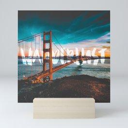 WANDERLUST San Francisco Mini Art Print