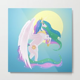 Sunlight Princess Metal Print