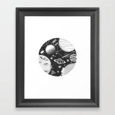 SPACE & SPORT Framed Art Print