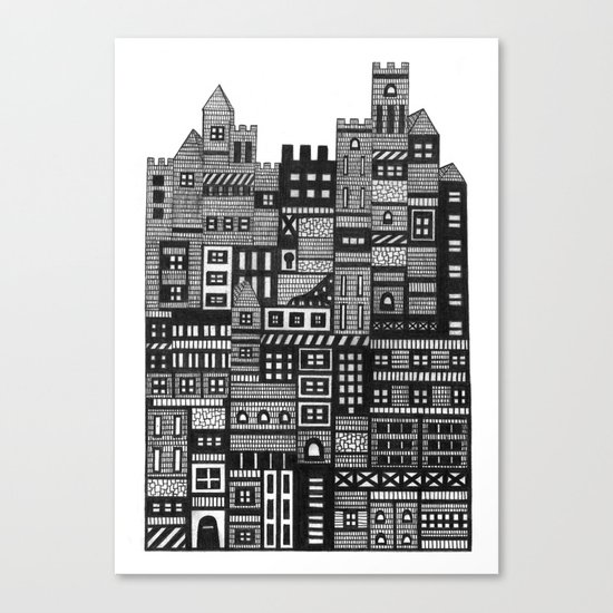 Castle Infinitus Canvas Print