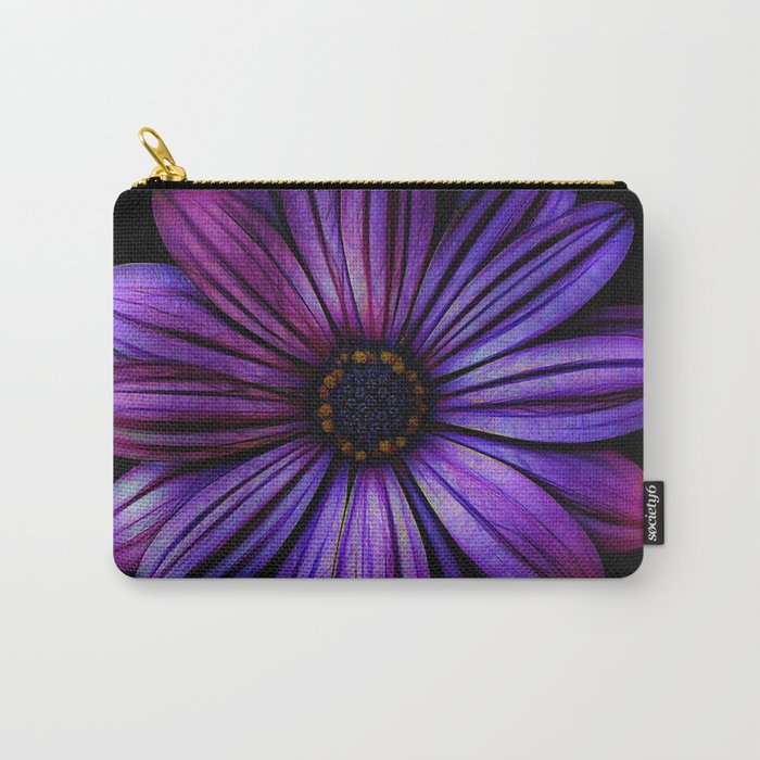 Bloom In Purple Carry-All Pouch