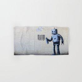 Banksy, Robot Hand & Bath Towel