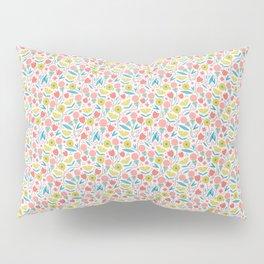 Geometric Floral Pattern Pillow Sham