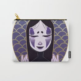 noh face Carry-All Pouch