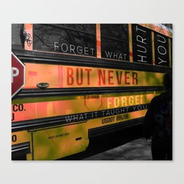 Never Forget Canvas Print