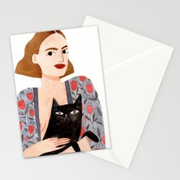 Anne et Margot Stationery Cards