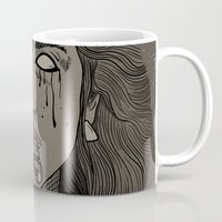 goddess Mugs featuring Goddess by MOBERG DESIGN