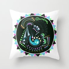 Formed in Space  Throw Pillow