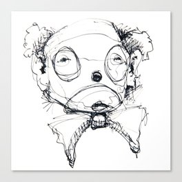 Clowns in Crowns #6 Canvas Print