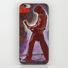 Rock and Roll in Red iPhone Skin