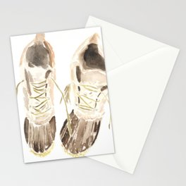 Worn Winter Boots (New England Classic) Stationery Cards