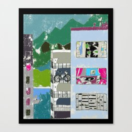 Downtown Living Canvas Print