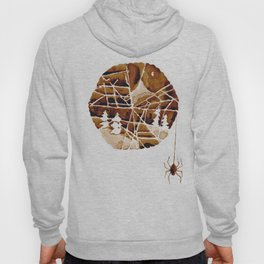the mountain and the spider Hoody