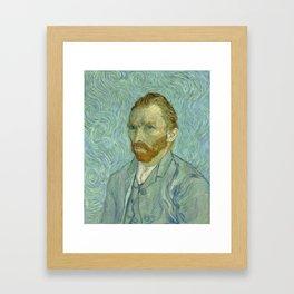 "Vincent van Gogh ""Self-portrait"" (1) Framed Art Print"