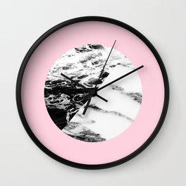 marble circle Wall Clock