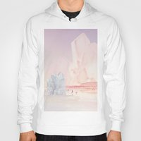 minerals Hoodies featuring Crystal Beach by Natalie Brenner