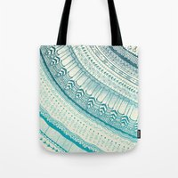 fifth harmony Tote Bags featuring Harmony  by rskinner1122