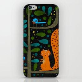 NIGHT TREE iPhone Skin