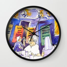 20170112b The Coastal Settlement Wall Clock