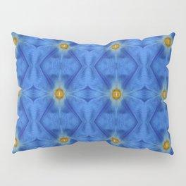 Divine Diamond Morning Glory Blues Pillow Sham