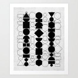 Geometry 6 Art Print