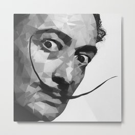 Salvador Dali Illustration Metal Print