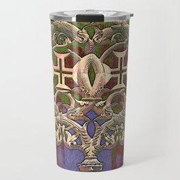 Gothic tracery. Batalha Travel Mug