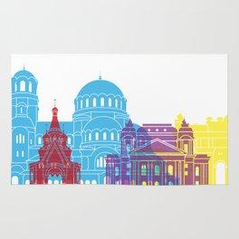 Sofia skyline pop Rug