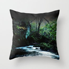 Majestic River Throw Pillow