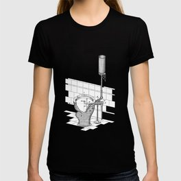 patent art Rhodes Water Closet 1899 T-shirt