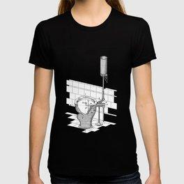 patent art Rhodes Water Closet 1899 T-shirt