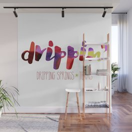 Drippin' Wall Mural