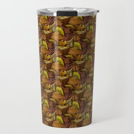 Painted Autumn Leaves Travel Mug