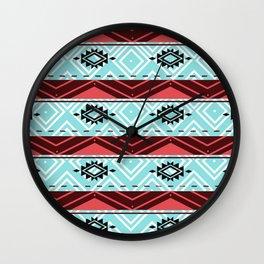 WILD ETHNIC Wall Clock