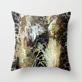 FLUID SIXTEEN Throw Pillow
