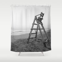 sunrise Shower Curtains featuring Sunrise by Solar Designs