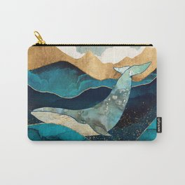 Blue Whale Carry-All Pouch